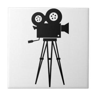 Classic Film Camera Small Square Tile