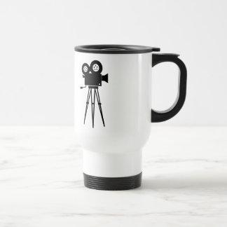 Classic Film Camera Stainless Steel Travel Mug