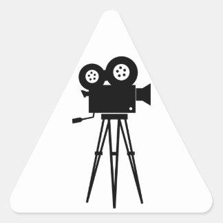 Classic Film Camera Triangle Sticker