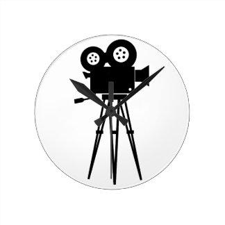 Classic Film Camera Wall Clock