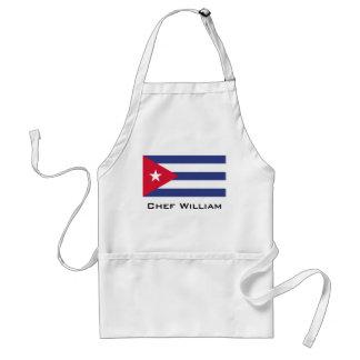 Classic Flag of Cuba Standard Apron