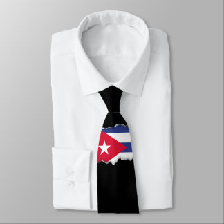 Classic Flag of Cuba Tie