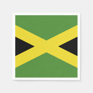Classic Flag of Jamaica Paper Napkins
