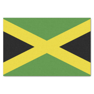 Classic Flag of Jamaica Tissue Paper