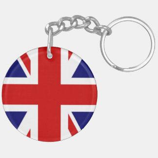 Classic Flag of the United Kingdom Key Ring