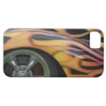 Classic Flaming Car iPhone 5 Case Mate