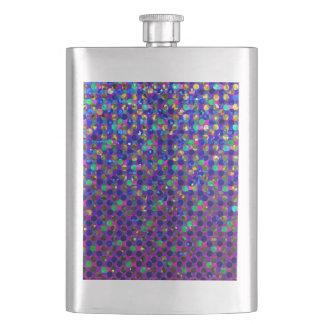 Classic Flask Polka Dot Sparkley Jewels