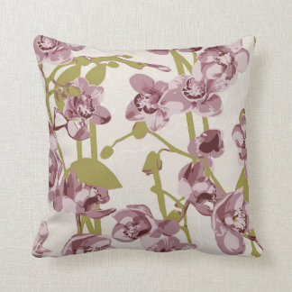 Classic floral pillow