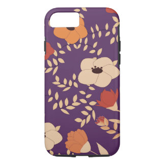 classic floral printing iPhone 8/7 case