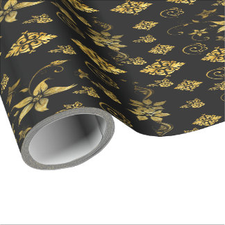 Classic floral wrapping paper