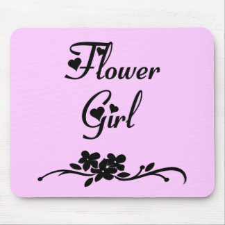 Classic Flower Girl Mousepads