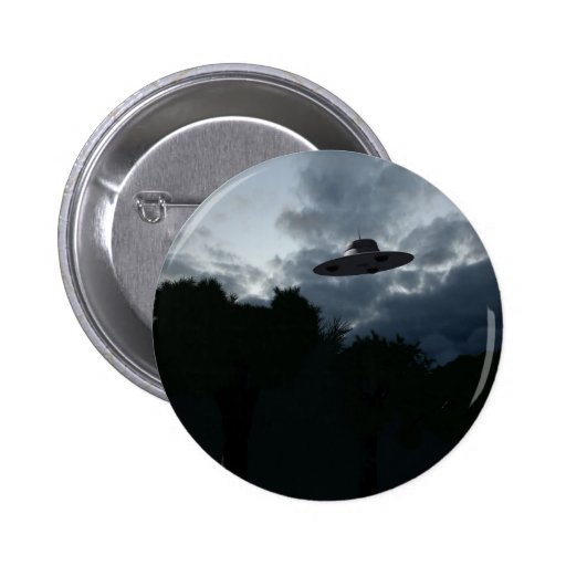 Classic Flying Saucer Button
