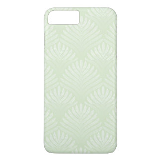 Classic foliage pattern in white and green iPhone 8 plus/7 plus case