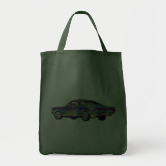 Classic Ford Mustang Canvas Bag
