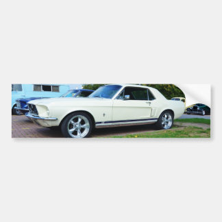 Classic Ford Mustang Bumper Stickers