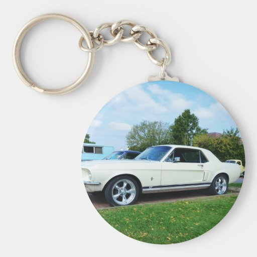 Classic Ford Mustang Key Chains