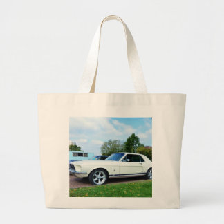 Classic Ford Mustang Tote Bag