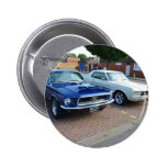 Classic Ford Mustangs Button