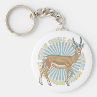 Classic Gazelle Key Ring