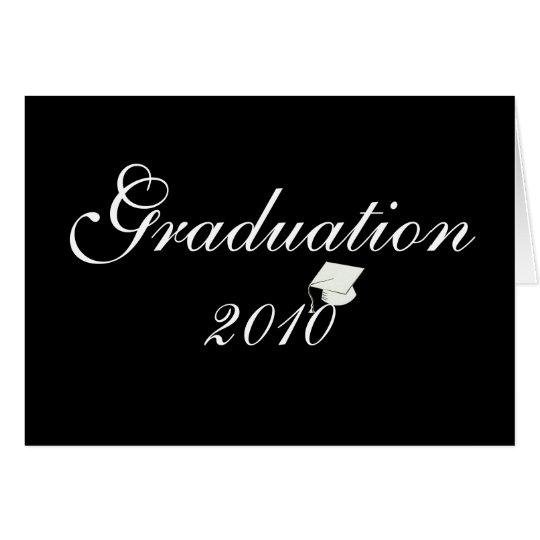 Classic Graduation 2010 Invitation Card