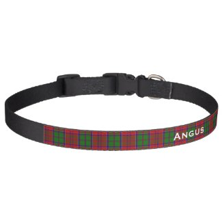 Classic Grant Tartan Plaid Custom Dog Collar