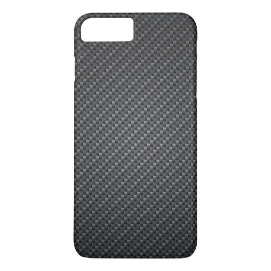 Classic Graphite Fibre Texture iPhone 7 Plus Case