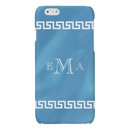 Classic Greek Key Monogram iPhone 6 Plus Case