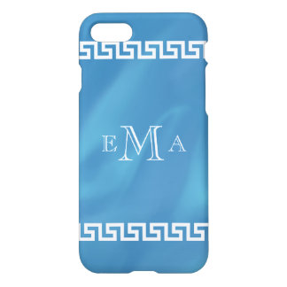 Classic Greek Key Monogram iPhone 8/7 Case