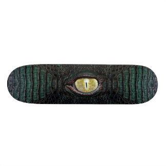 Classic Green Alligator Pro Board #2 Skate Deck