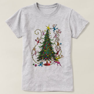 Classic Grinch | Christmas Tree T-Shirt