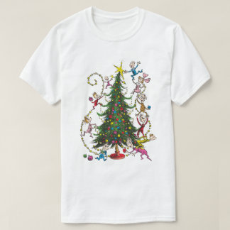 Classic Grinch   Christmas Tree T-Shirt