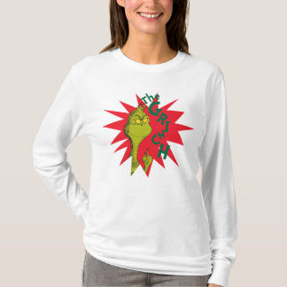 Classic Grinch | Red Starburst T-Shirt