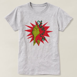 Classic Grinch   Red Starburst T-Shirt