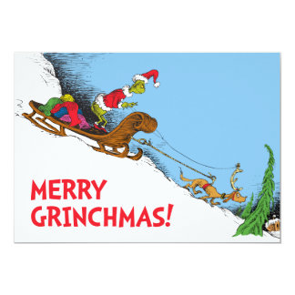 Classic Grinch | The Grinch and Reindeer Max Card