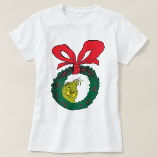 Classic Grinch | Wreath T-Shirt