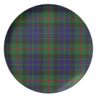 Classic Gunn Tartan Plaid Plate