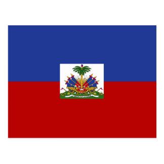 Classic Haitian Flag Postcard