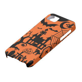 Classic Halloween Collage iPhone 5 Cases