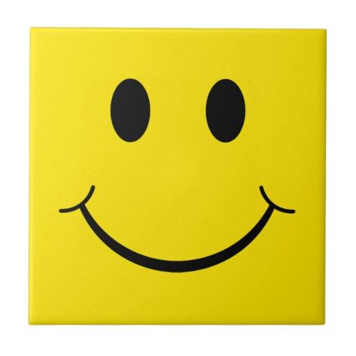 Classic Happy Face Tile