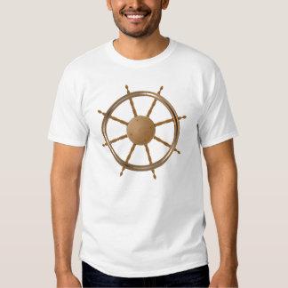 Classic helm steering wheel t shirt