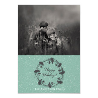 Classic Holiday Berries | Happy Holidays Photo Card