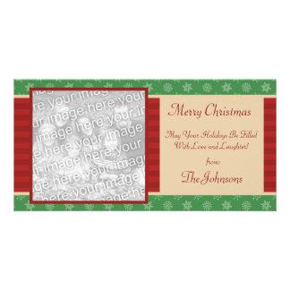 Classic Holiday Christmas Photo Card
