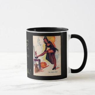 Classic Holloween Pin-Up Circa 1920's Mug