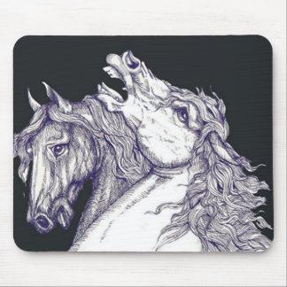 Classic Horses Mouse Mat
