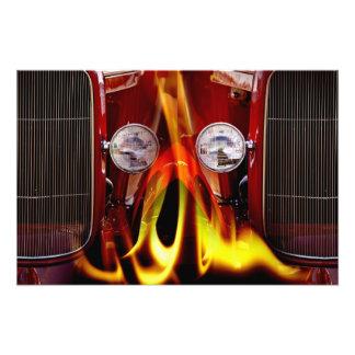 Classic Hot Car Photograph