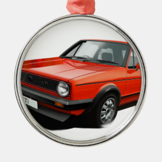 Classic hot hatch christmas ornament