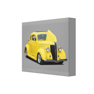 Classic Hot-Rod Car Canvas Print