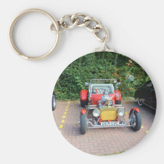 Classic Hot Rod Roadster Keychains