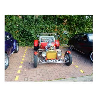 Classic Hot Rod Roadster Postcard