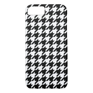 Classic houndstooth pattern Dogstooth check design iPhone 8/7 Case